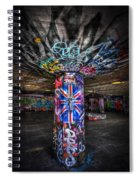 Cool Brittania Spiral Notebook