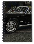 Cool Classic Mustang Spiral Notebook