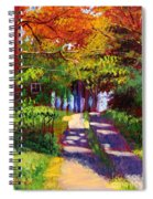 Cool Country Land Plein Air Spiral Notebook