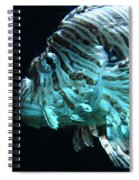 Cool Fish Spiral Notebook