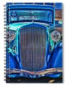 Cool Front End Hdr Spiral Notebook
