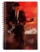 Cool Hand Marc Spiral Notebook
