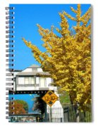 Cooper Young Trestle Looking North Spiral Notebook