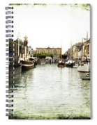 Copenhagen Denmark Spiral Notebook