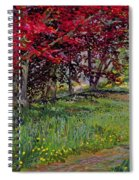 Copper Beeches New Timber Sussex Spiral Notebook