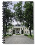 Copper King Daly's Riverside Mansion - Hamilton Montana Spiral Notebook
