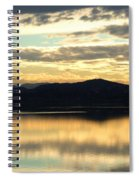 Copper Sky And Reflections Spiral Notebook