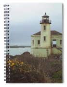 Coquile Lighthouse Spiral Notebook