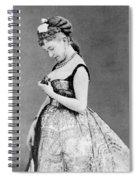 Cora Pearl (c1835-1886) Spiral Notebook