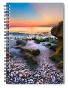 Coral Dawn Spiral Notebook