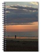 Coral Haze Sunrise Spiral Notebook