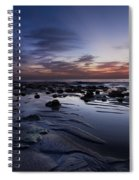 Coral Mirror Spiral Notebook