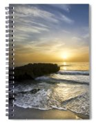 Coral Shoreline Spiral Notebook