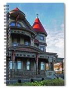 Corbin Norton House Marthas Vineyard Spiral Notebook