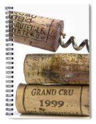 Cork Of French Wine Spiral Notebook
