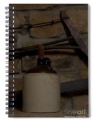 Corked White Lightning 9 Spiral Notebook