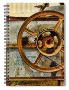 Corn Husker Machine Spiral Notebook