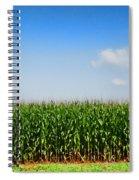 Corn Row Spiral Notebook