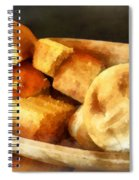 Cornbread And Rolls Spiral Notebook