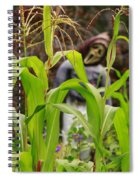 Cornstalks Spiral Notebook