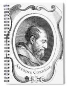 Correggio (c1489-1534) Spiral Notebook