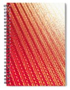 Corrugated Metal Spiral Notebook