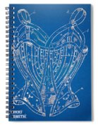 Corset Patent Series 1905 French Spiral Notebook