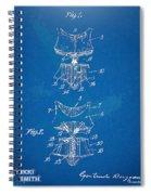 Corset Patent Series 1907 Spiral Notebook