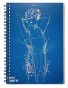 Corset Patent Series 1924 Figure 1 Spiral Notebook