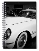 Corvette 55 Convertible Spiral Notebook