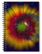 Cosmic Light Spiral Notebook