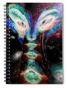 Cosmic Smurf Spiral Notebook