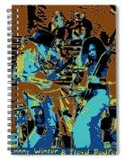 Cosmic Winter Blues 1975 Spiral Notebook