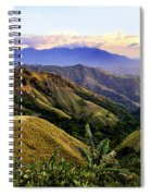 Costa Rica Rolling Hills 1 Spiral Notebook