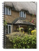 Cotswold Thatched Cottage Spiral Notebook