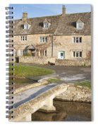 Cotswold Village Of Lower Slaughter Spiral Notebook