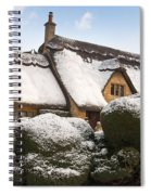 Cotswolds Cottage Spiral Notebook