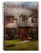 Cottage - Westfield Nj - The Country Life Spiral Notebook