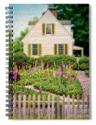 Cottage And Garden Spiral Notebook