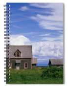 Cottage At Bay Of Chaleur Spiral Notebook