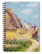 Cottage At Le Vaudreuil Spiral Notebook