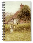 Cottage At Pinner Middlesex Spiral Notebook