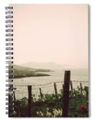 Cottage By The Sea Barra Spiral Notebook
