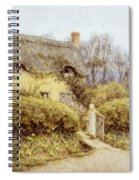 Cottage Near Freshwater  Spiral Notebook