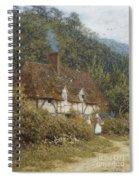Cottage Near Witley Surrey Spiral Notebook