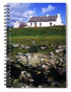 Cottage On Achill Island, County Mayo Spiral Notebook