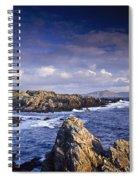 Cottage On Seashore, Ineuran Bay Spiral Notebook