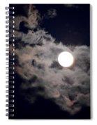 Cotton Moonlight Spiral Notebook