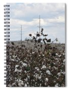 Cotton Ready For Harvest In Alabama Spiral Notebook