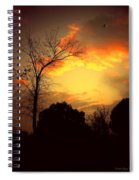 Cottonwood Sunset Spiral Notebook